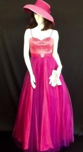 Ball Gown pink dress