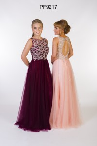 PF 9217 Blackcurrant and Pale Peach