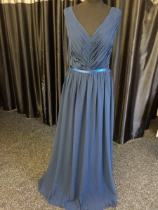 prom bridesmaids evening blue