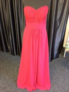 prom evening bridesmaid detailed bodice