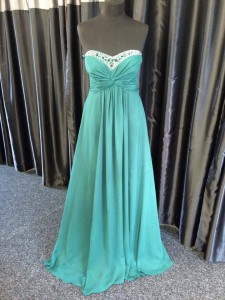 prom evening bridesmaid turquoise dress