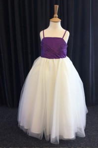 purple bridesmaids dress small