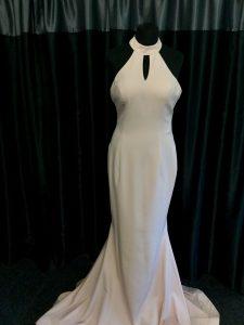 white dress by Pia Michi