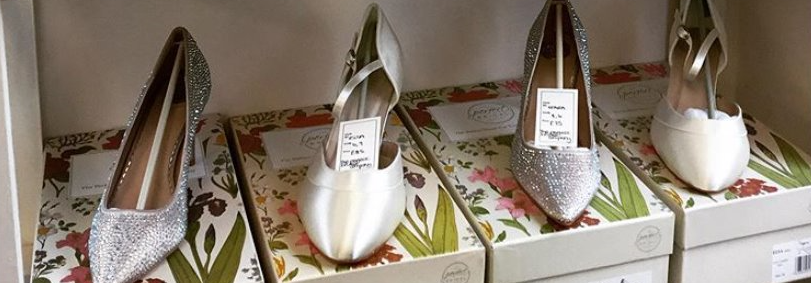 the Perfect Bridal Outlet shoes