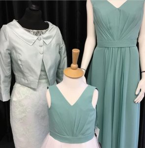 teal outfits bridesmaids