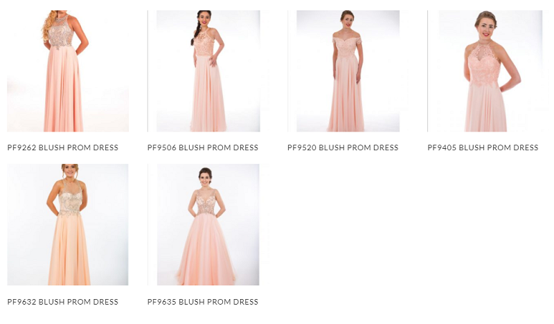 Prom frocks 2020 blush dresses