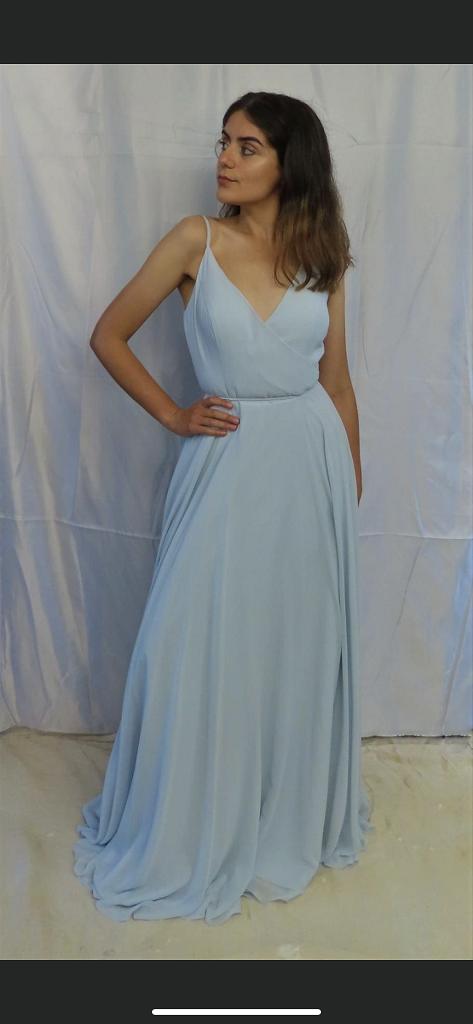 Angel Bridesmaids Light Blu